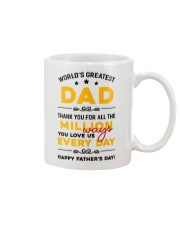 Million Ways Dad Love Us Mug front