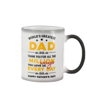Million Ways Dad Love Us Color Changing Mug thumbnail