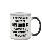 Cussing In Front Of My Kid Color Changing Mug thumbnail