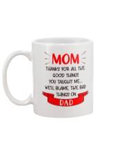 Blame Dad Bad Things Mug back