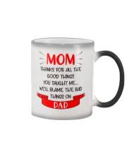 Blame Dad Bad Things Color Changing Mug thumbnail