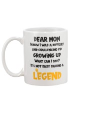 Not Easy Raising A Legend Mug back