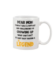 Not Easy Raising A Legend Mug tile