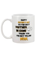Best Partner In Crime  Mug back