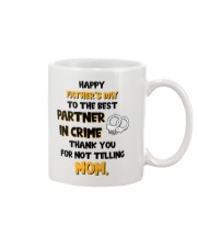 Best Partner In Crime  Mug front