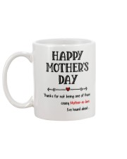 Crazy Mother-in-law Heard About Mug back