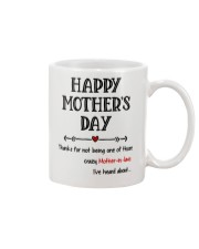 Crazy Mother-in-law Heard About Mug front