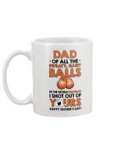 Of All Sweaty Hairy Balls Mug back