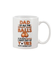 Of All Sweaty Hairy Balls Mug front
