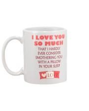 I love you so much Mug back