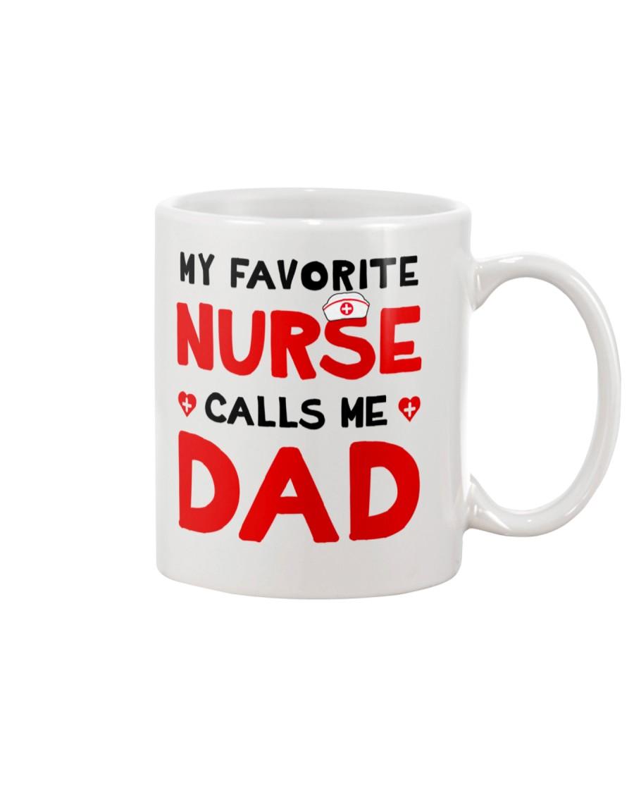Favorite Nurse Call Dad Mug