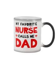 Favorite Nurse Call Dad Color Changing Mug thumbnail