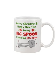 Big Spoon Xmas Mug front