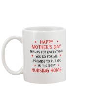 Best Nursing Home Mug back
