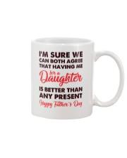 Me For Daughter Dad Mug front