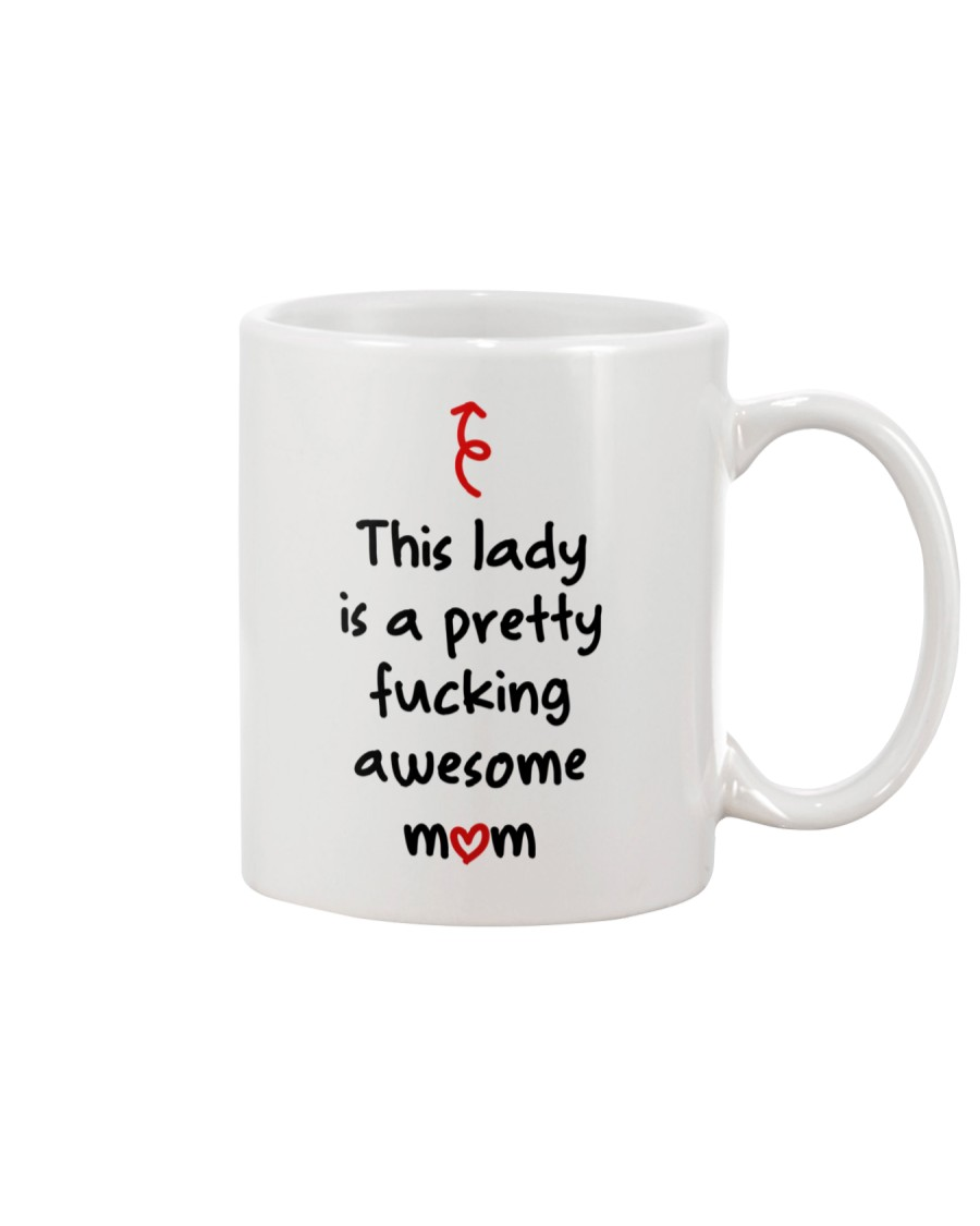 This Lady Awesome Mom Mug