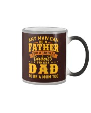 Badass Single Dad Color Changing Mug thumbnail