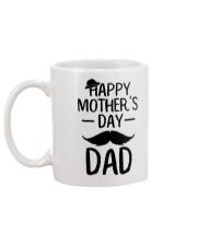 Happy Mother's Day Dad Mug back