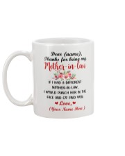 If I Had A Different Mother-in-law Personalized  Mug back