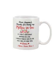 If I Had A Different Mother-in-law Personalized  Mug front