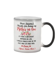 If I Had A Different Mother-in-law Personalized  Color Changing Mug thumbnail