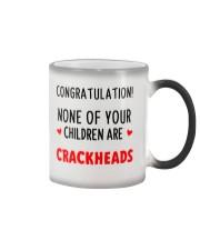 No Crackheads Dad Color Changing Mug thumbnail