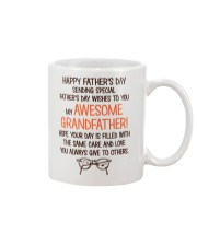 Happy Father's Day Card For Grandfather Mug front