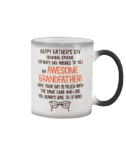 Happy Father's Day Card For Grandfather Color Changing Mug thumbnail