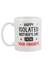Isolated Mother's Day  Mug back