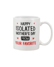 Isolated Mother's Day  Mug front