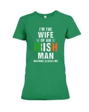 Wife Of Irish Man Premium Fit Ladies Tee front