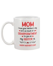 A Disappointment To You Mug back