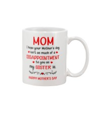 A Disappointment To You Mug front