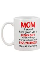 Funny Gift Piss Yourself Mug back