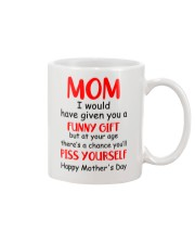 Funny Gift Piss Yourself Mug front