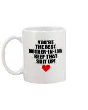Keep Best Mother-in-law Mug back
