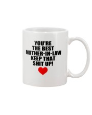 Keep Best Mother-in-law Mug front