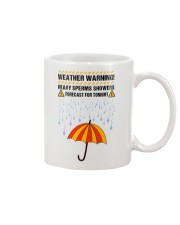Heavy Sperm Showers Forest Mug front