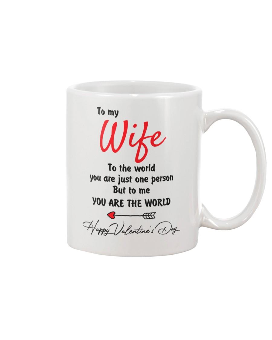 To My Wife The World Mug