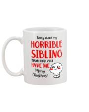 Horrible Sibling Mug back