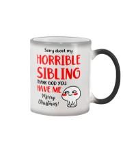 Horrible Sibling Color Changing Mug thumbnail