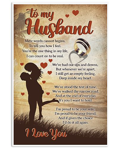 Husband mere words cannot begins