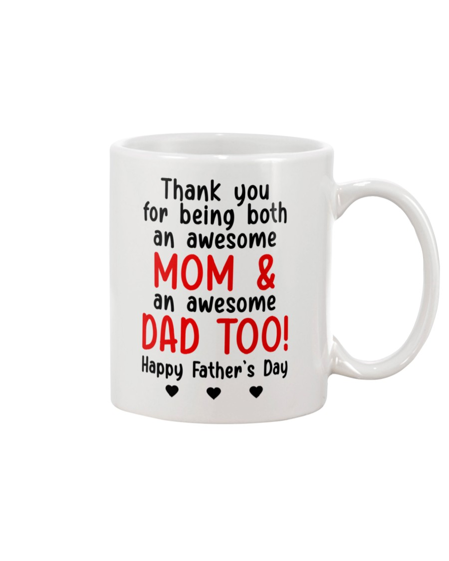 Thanks Being Mom And Dad Mug