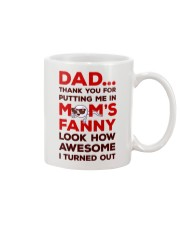 Put Me In Mom's Fanny Mug front