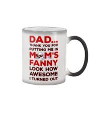 Put Me In Mom's Fanny Color Changing Mug thumbnail