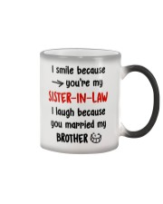 Sister-in-law Color Changing Mug thumbnail