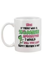 Zombie Apocalypse Mug back