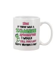 Zombie Apocalypse Mug front