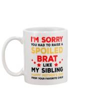 My Spoiled Brat Sibling Mug back