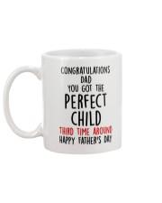 Perfect Child Third time Mug back